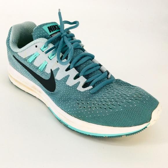 sports shoes 24358 fa8c6 Nike Zoom Structure 20 Aqua Blue Dynamic Sneaker. M 5ca5f122fe19c7bb1a70979d